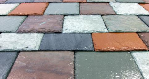 Vermont Slate Colors Mixed