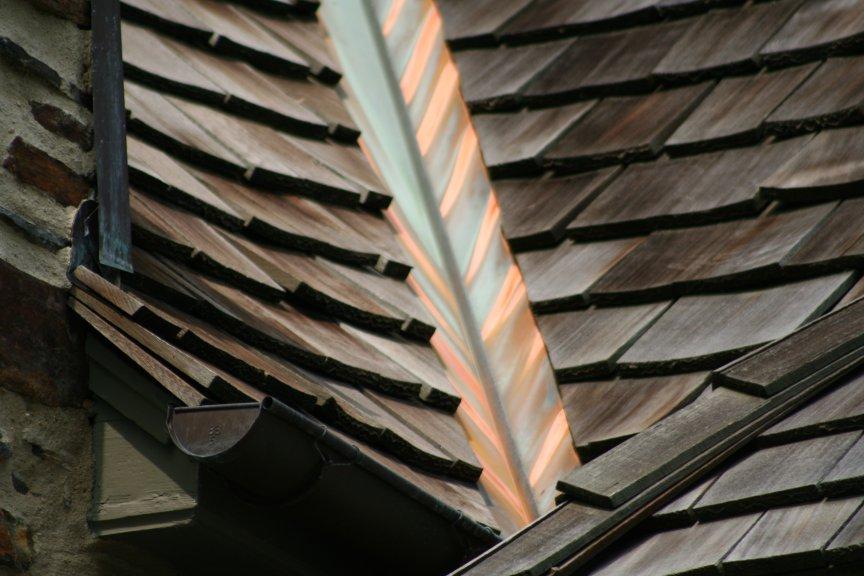 Cedar Roof Destroys Copper Valley