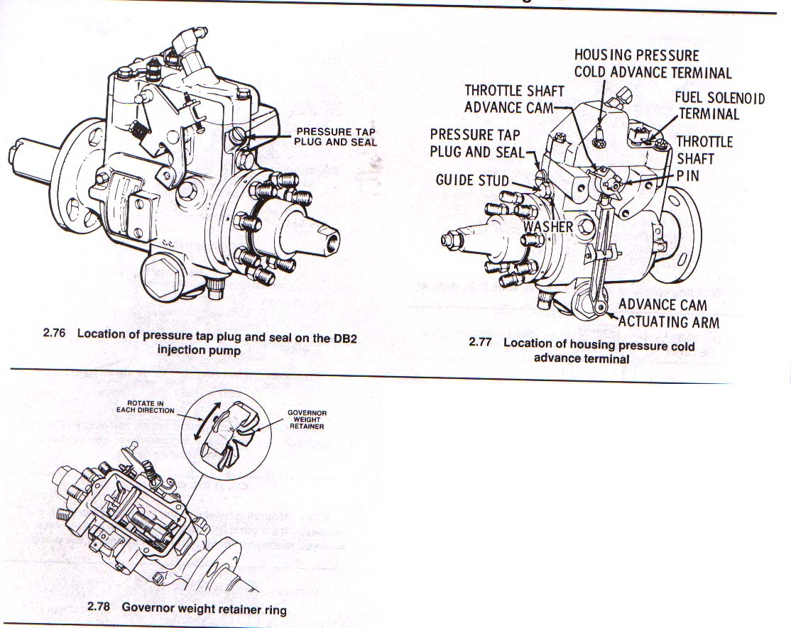DB2 Retrofit Mechanical Injector Pump in '98 | Diesel PlaceDiesel Place