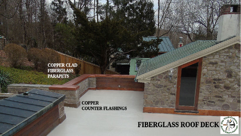 Fiberglass Roof Deck Repair Philadelphia Pa