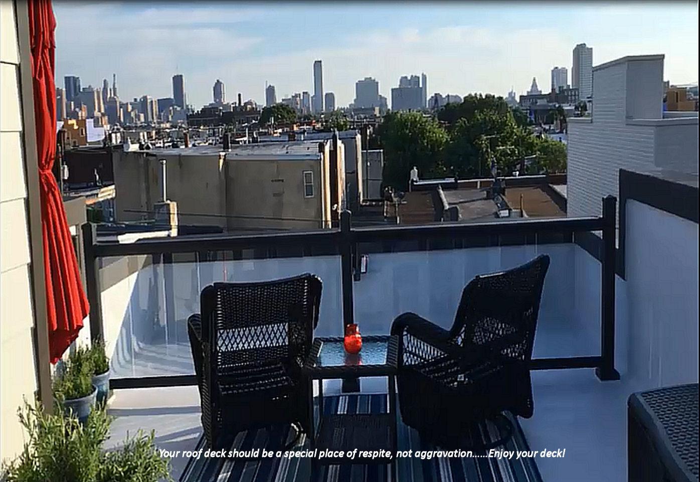 Enjoy Your Roof Drck. Fiberglass Deck Repair