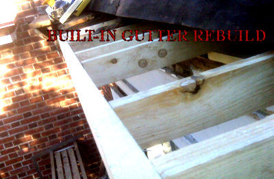Copper Yankee Box Gutter Integral Relining Philadelphia
