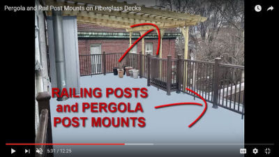 railings and post mounts