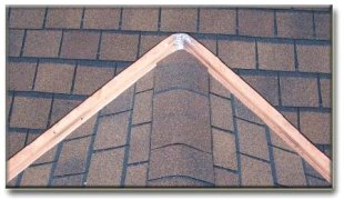 open copper valley on asphalt shingle roof