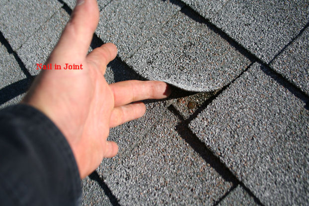 Nailing Roof Shingles Amp What Nail Looks Like It Would